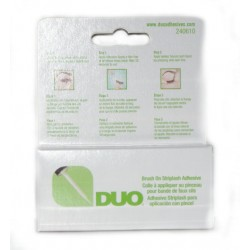 Klej do rzęs - DUO Eyelash Adhesive Clear z witaminami A,C,E 5g