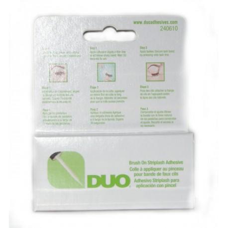 Klej do rzęs - DUO Eyelash Adhesive Clear z witaminami A,C,E 5g