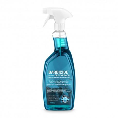 BARBICIDE Spray BEZZAPACHOWY do dezynfekcji 1000ml