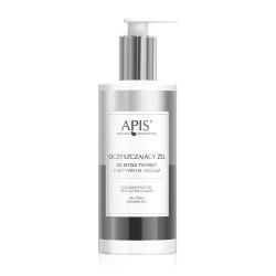 Apis - HOME TERAPIS - Oczyszczający żel do mycia twarzy z aktywnym węglem 300 ml