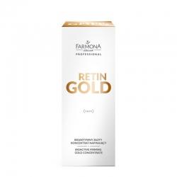 FARMONA RETIN GOLD - Bioaktywny złoty koncentrat napinający do twarzy, szyi i dekoltu 30 ml