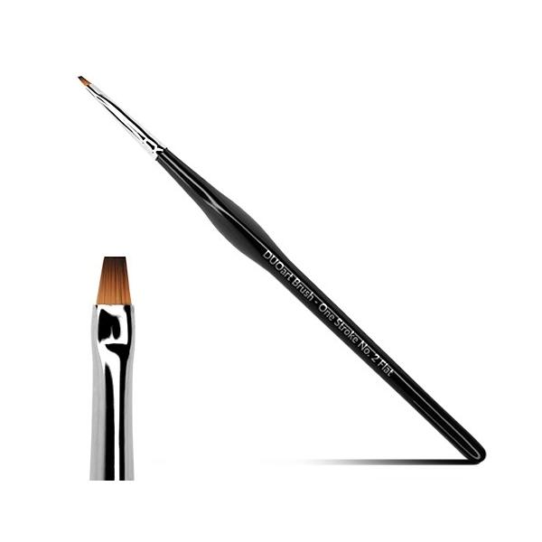 NEW DUO Art Brush One Stroke No. 2 flat