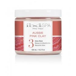 IBD PEDISPA Aussie Pink Clay 3 Detox Mask 420g